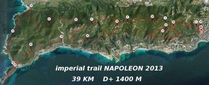 Le règlement du trail napoléon