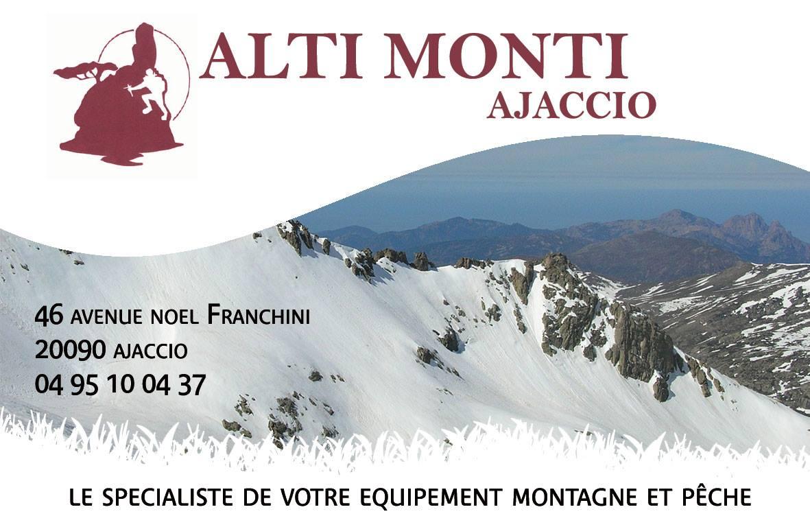 ALTI MONTI AJACCIO partenaire et fournisseur officiel du TRAIL NAPOLEON