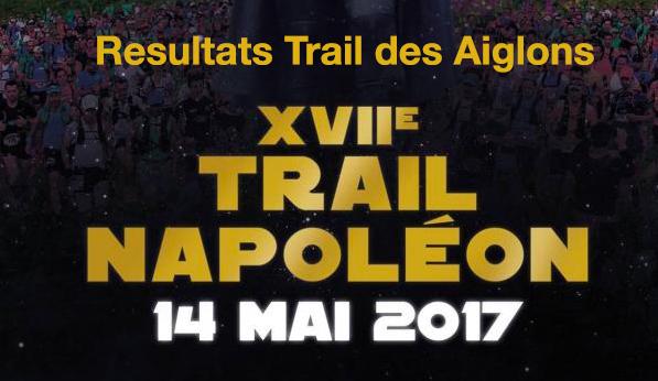 Résultats Trail des Aiglons 2017