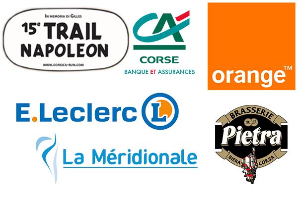 Partenaires Trail Napoléon - 10 mai 2015 AJACCIO