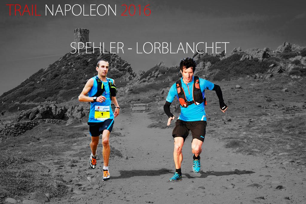 Deux Champions au départ du 16ème Trail Napoléon