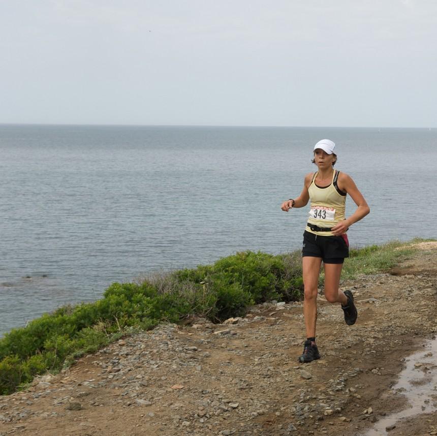 Armelle Bedin, ASPTT Ajaccio, complète le podium sénior